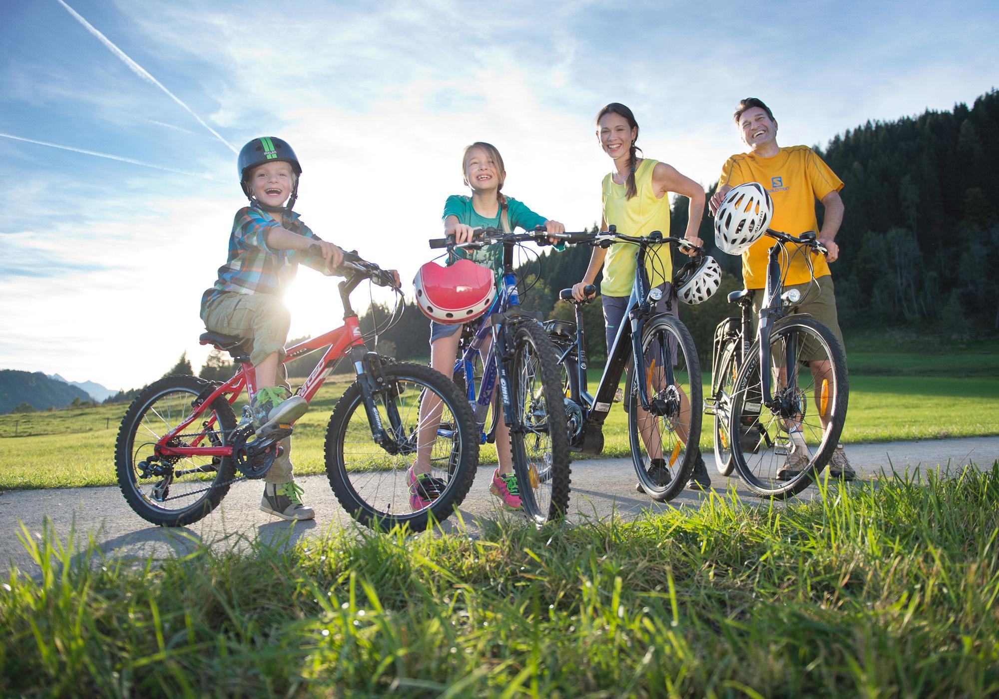 E-Bike-Kinder